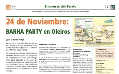 Barha Party en prensa